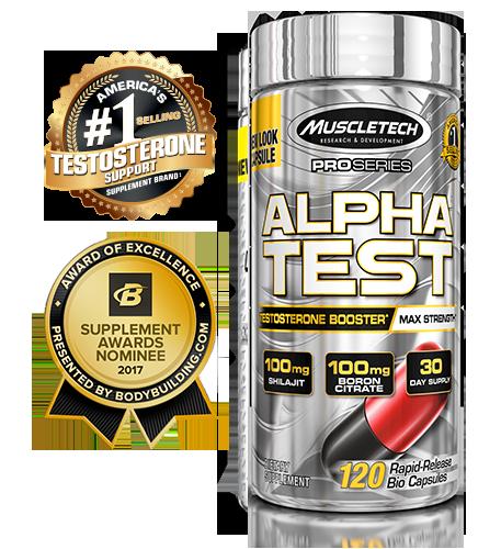 خرید alpha test muscletech