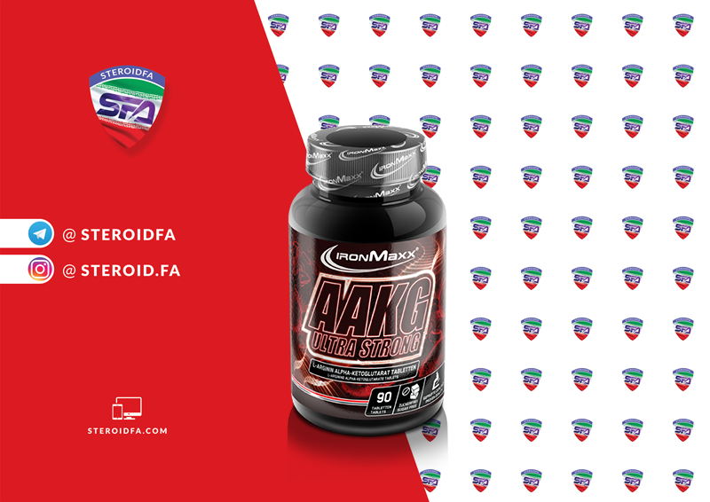 ای ای کی جی آیرون مکس | AAKG Ultra Strong IRONMAXX