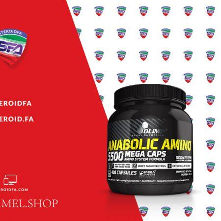 خرید آمینو 5500 الیمپ - Anabolic amino 5500 olimp